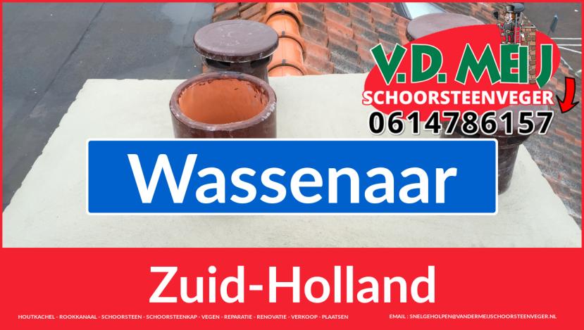 Tot ziens bij Van der Meij schoorsteenrenovatie Wassenaar