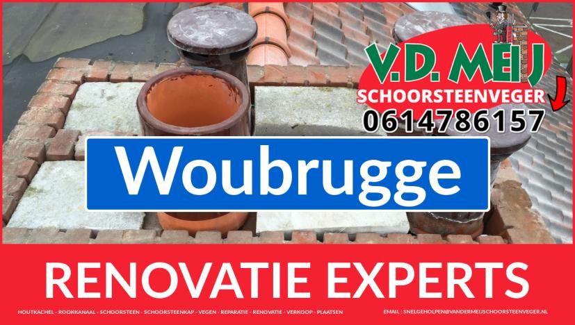 totale schoorsteen renovatie in Woubrugge