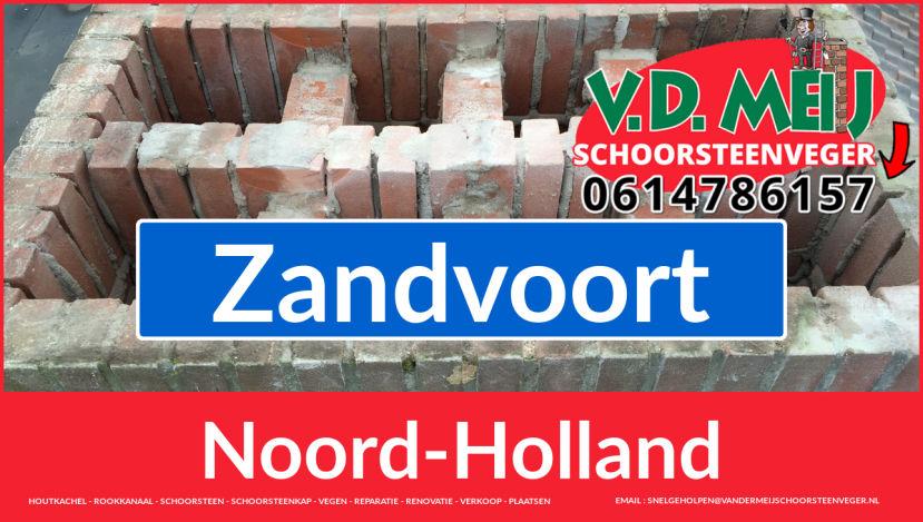 Tot ziens bij Van der Meij schoorsteenrenovatie Zandvoort