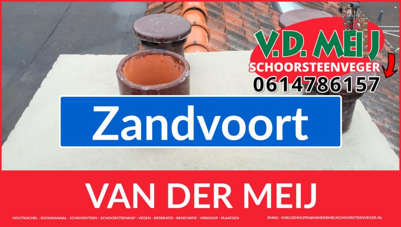 Van der Meij schoorsteen renovatie in Zandvoort