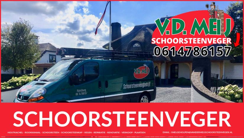 Schoorsteenspecialist Velsen-Zuid en Driehuis