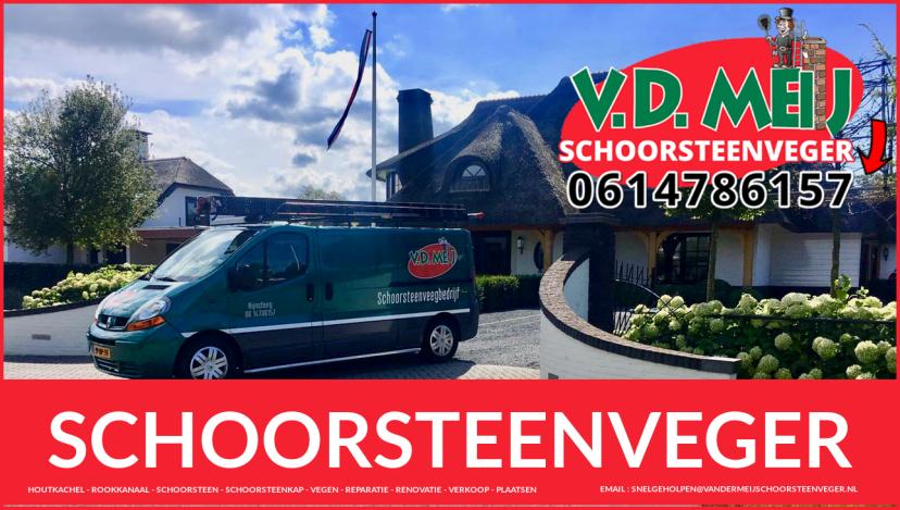 Schoorsteenspecialist Amsterdam