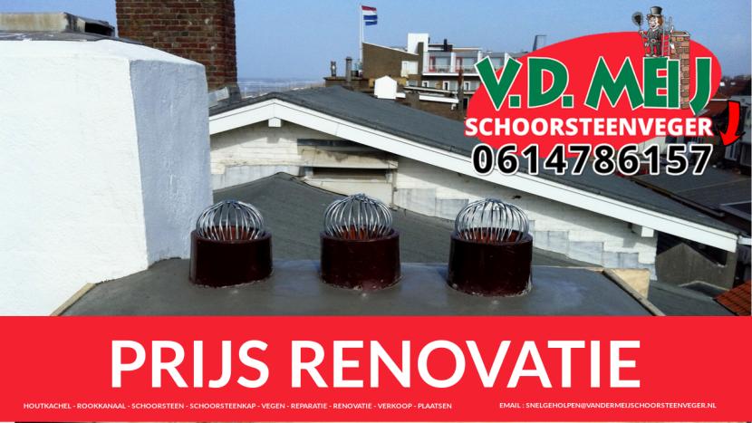 Prijs Schoorsteen Renovatie Warmond
