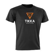 Tikka T-shirt aircool svart