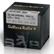 S&B 30-06 124 FMJ (50 pk.)