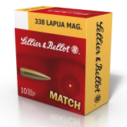 S&B 338 Lapua Mag, 300 HPBT (10 pk.)