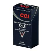 CCI 22 LR SEGMENTED QUIET HP 40grs (50 pk.)