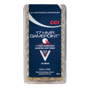 CCI 17 HMR GAME POINT 20 GR. SP (50 pk.)