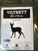 Viltnett 215x72cm for Rådyr