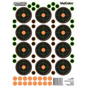 VisiColor Bullseye selvklebende blink