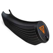 T3x pistolgrep STD svart. orange logo