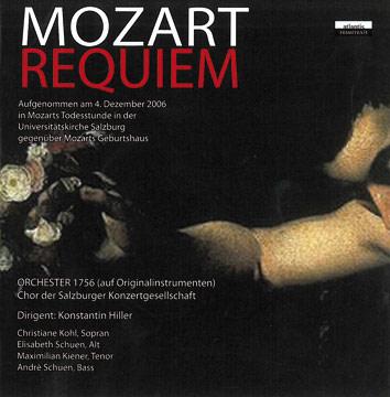 Requiem CD-Cover