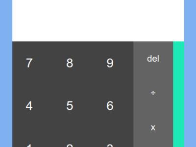 JavaScript Calculator