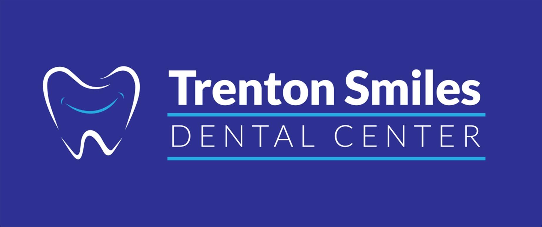 Trenton Smiles Dental Logo Banner