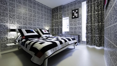 The QR Code Hotel Room