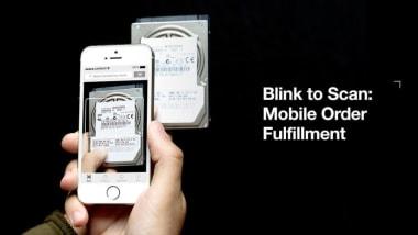 Blink to Scan: Mobile Order Fulfillment
