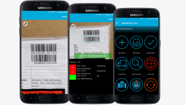 Mobile Barcode Scanning Creates Last Mile Delivery Visibility