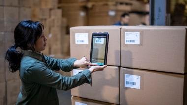 Computer Vision für das Scannen in der Logistik