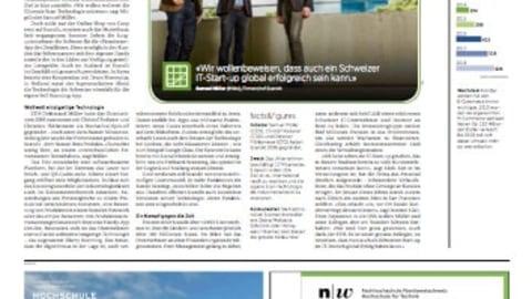 Scandit featured in Swiss publication, Handelszeitung