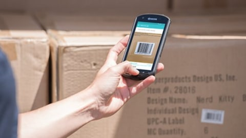 Retailers Confirm Product Location with Mobile Putaway