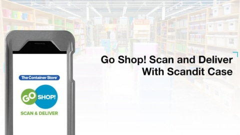 The Container Store – Scan and Deliver with Scandit