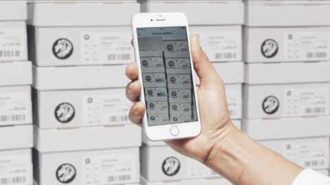 Stock Checking by Smartphone Scanning (On-Screen Demos)