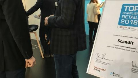 Scandit Wins Retail Technology Award Europe 2018