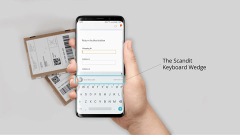 New Keyboard Wedge Features Include a Software Keyboard Mode for Android Devices