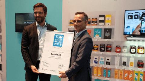 Scandit Wins Retail Technology Award Europe 2019