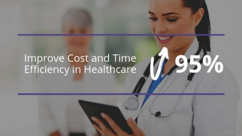How Mobile Computer Vision Can Improve Cost and Time Efficiency in Healthcare by 95%