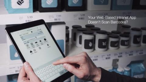 Set up enterprise-grade barcode scanning in any browser-based application in 5 minutes