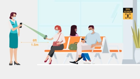 How Smartphone Scanning Tackles Air Travel's New Safety Challenges [Infographic]