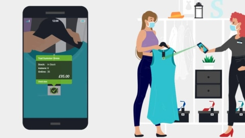 Why Smartphone Scanning Fits Fashion Retail Post-COVID [Infographic]