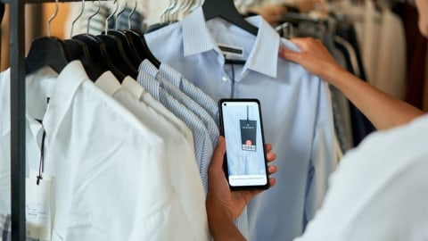 The Business Case for Smartphone Scanning in Fashion Store Operations