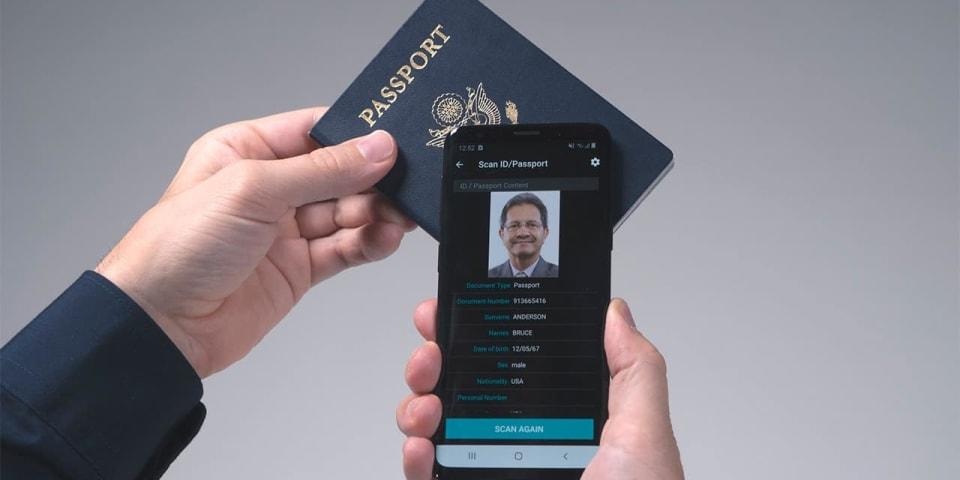 Scanning ePassports with NFC/RFID