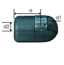 Part # 545 nylon ball socket ends
