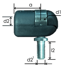 Part # 645.19 nylon ball joint ends