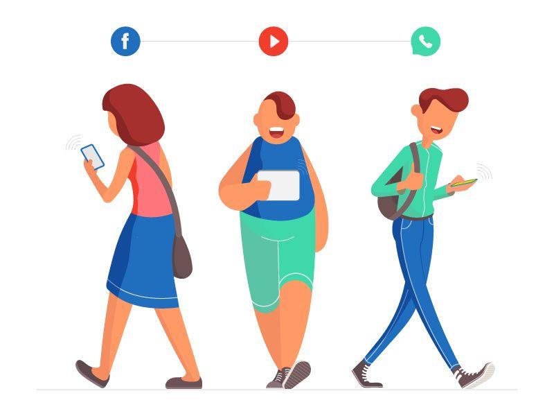 Toon dat je bedrijf actief is en blijf posten op social media