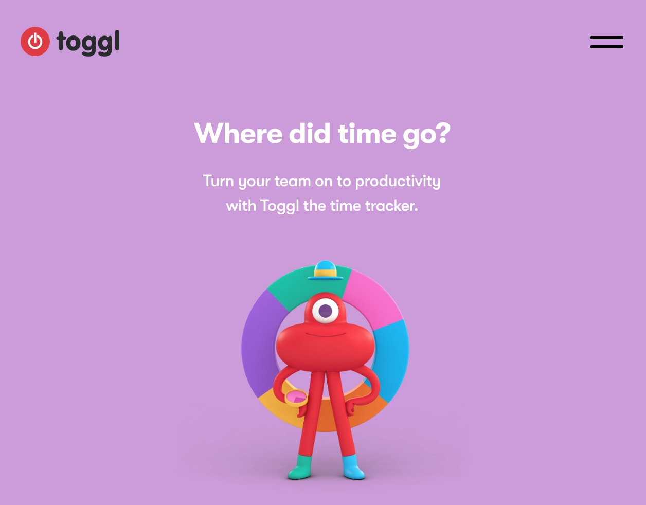 Toggle gebruikt het verbatim effect slim