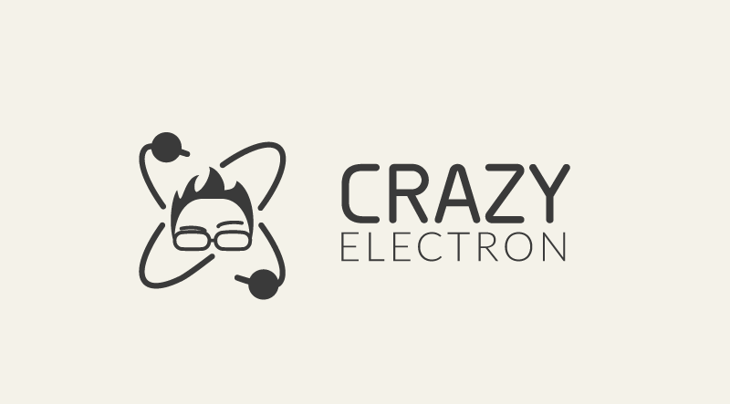 CrazyElectron logo by Jakub Lasecki