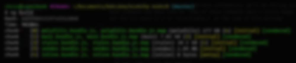 Angular CLI ng build