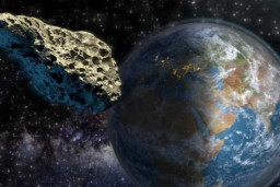 Asteroid will fly past Earth