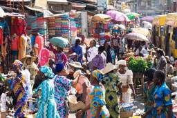 Nigeria street people