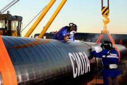 Siberia pipeline