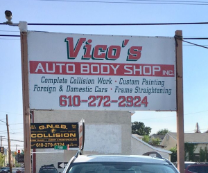 Vico's Auto Body Shop Inc