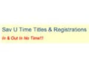 Sav U Time Titles & Registrations