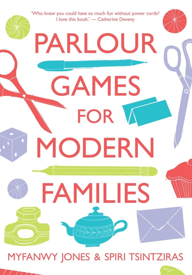 Parlour Games For Modern Families Book Scribe Publications border=