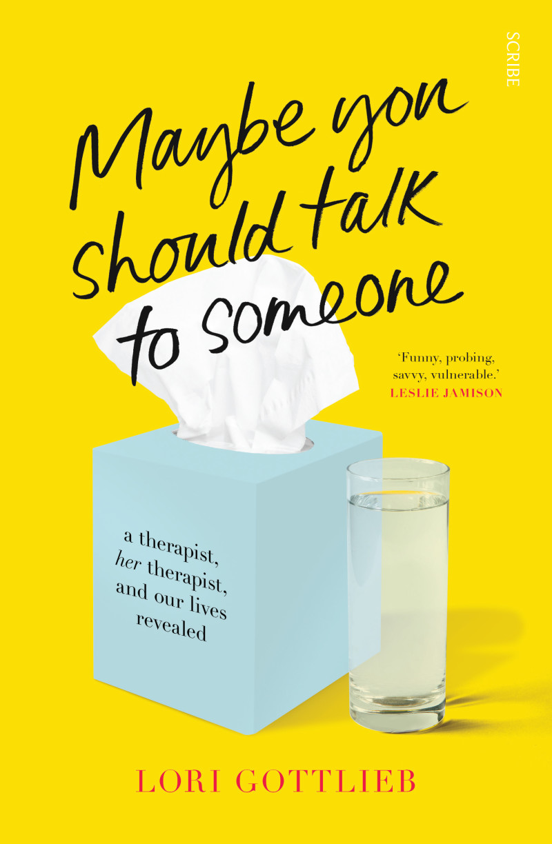 Cover Maybe You Should Talk To Someone by Lori Gottlieb