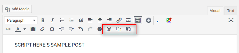 How to add custom buttons in WordPress TinyMCE Editor? | SCRIPT HERE