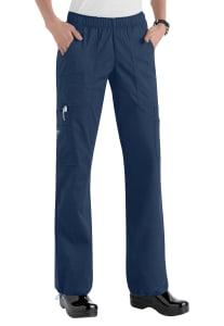 Cherokee Workwear Core Stretch Comfort Waist Cargo Scrub Pants